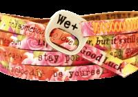 ¿Conoces las pulseras We positive?