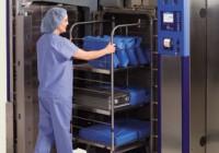 Efecto Venturi para el proceso de desinfección de material médico